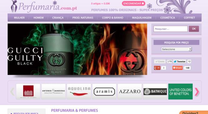 perfumaria online – Loja de perfumes perfumaria.com.pt