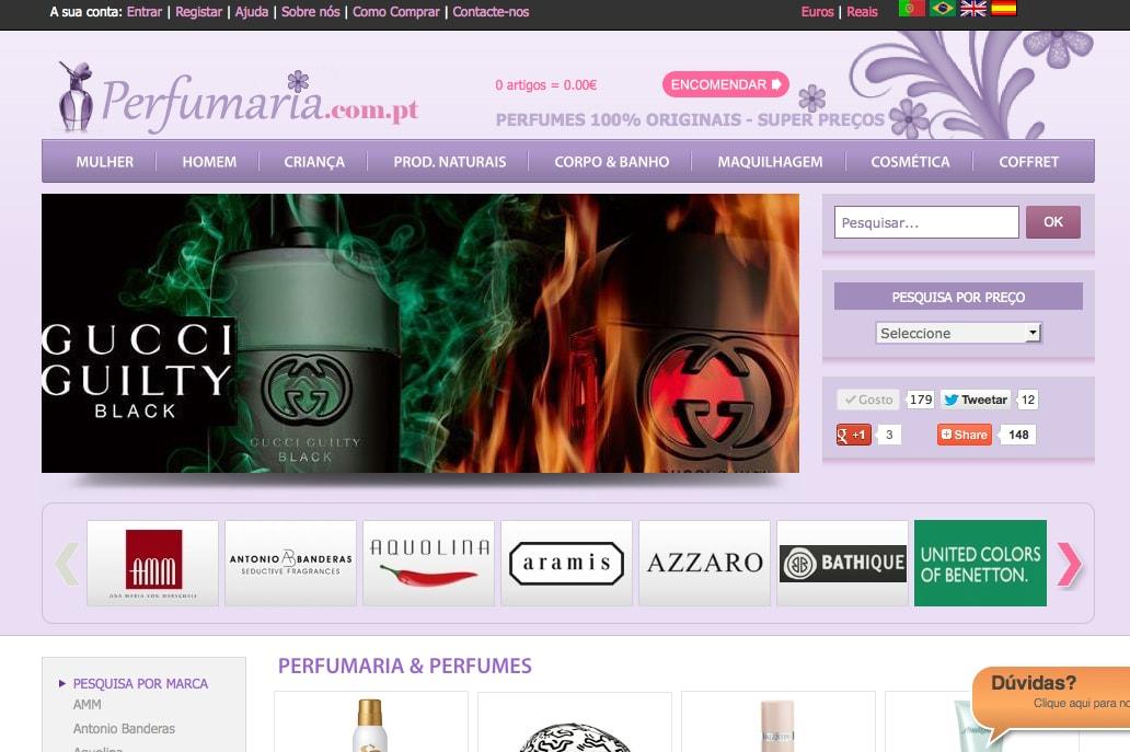 perfumaria online – Loja de perfumes