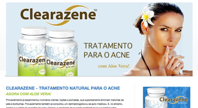 Tratar Acne com Clearazene – adeus-acne.com