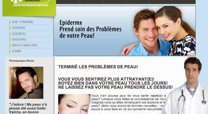 Traitement Acne Epidermx