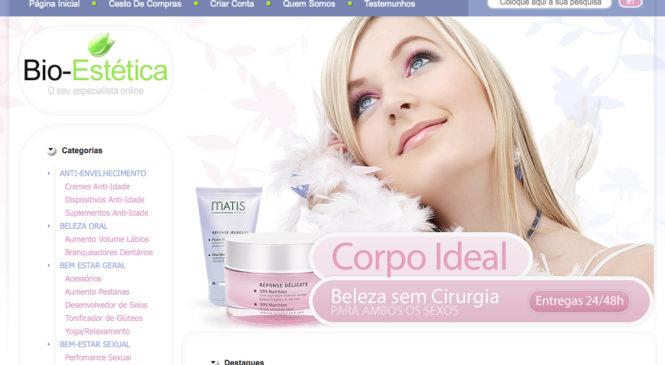 Loja de estetica – bio-estetica.com