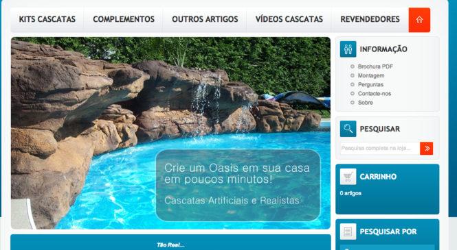 Cascatas Artificiais e Realisticas cascatasoasis.com