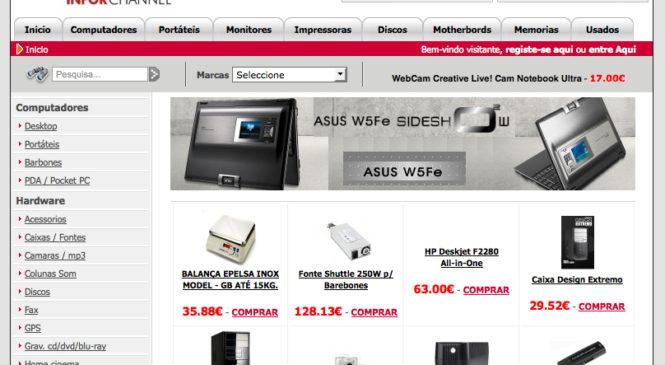 Comprar Registadoras e POS – inforchannel.com