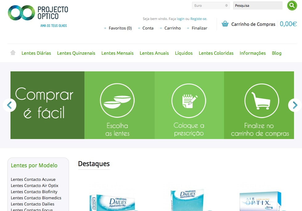 Lentes de contacto – projectooptico.pt