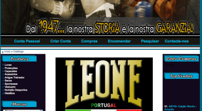 Loja Desporto – leoneportugal.com