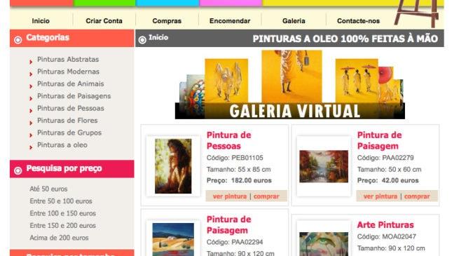 Pinturas e Telas a Óleo – euro-arte.com