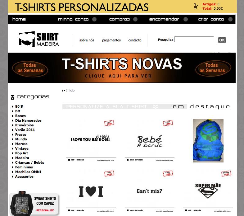 Comprar t-shirts personalizadas – tshirtportugal.com