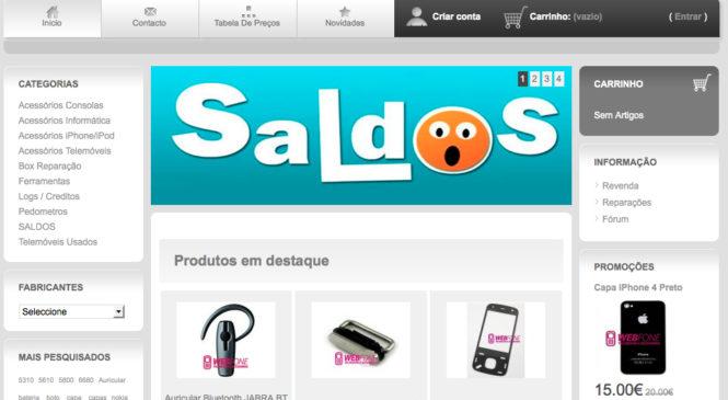webfone.pt- Componentes para Telemóveis