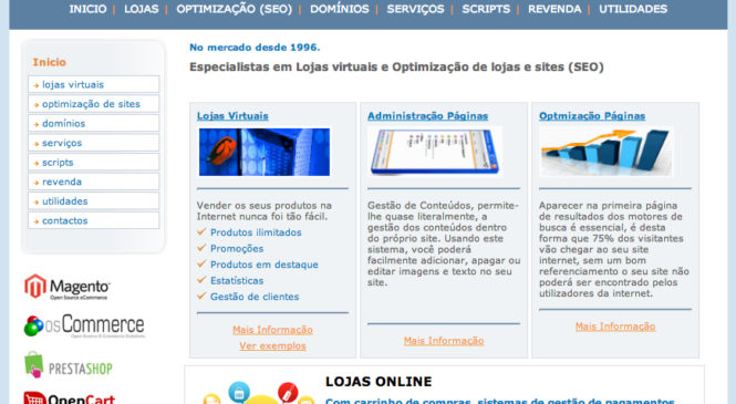 Lojas virtuais e Otimização SEO – ptnet.net