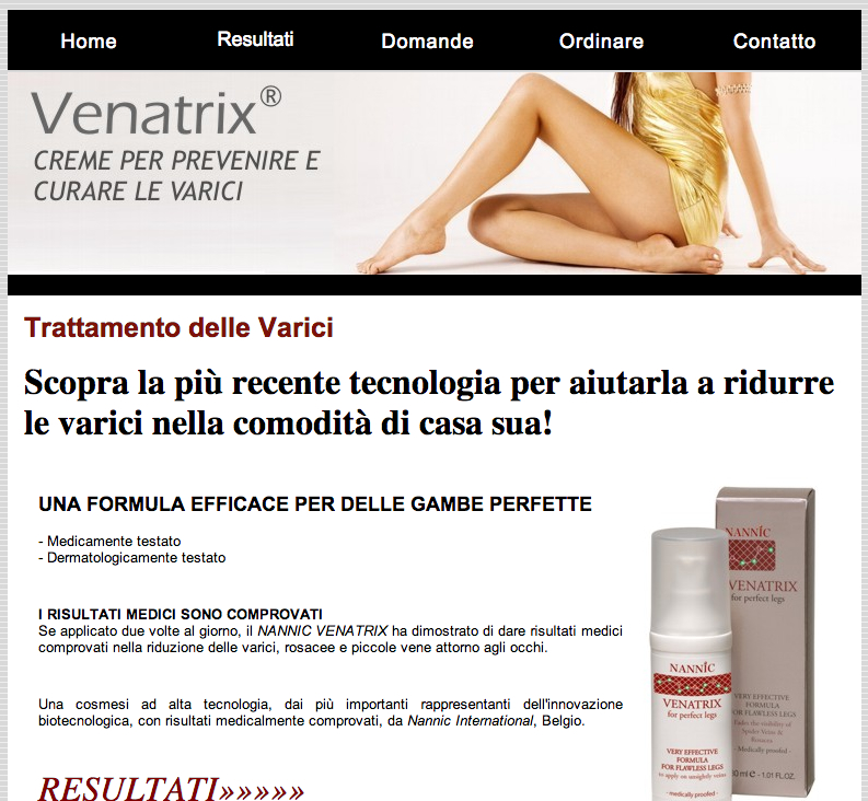 venatrix italia