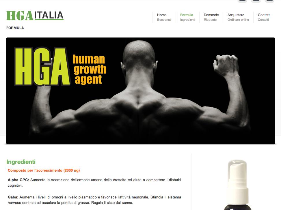 ormoni crescita hga italia