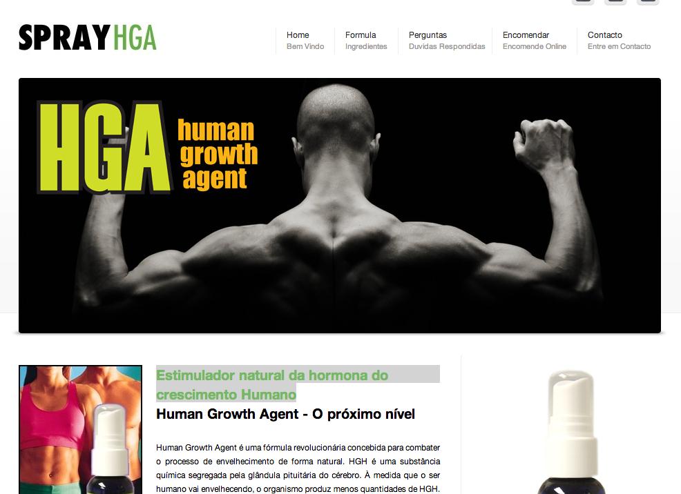 hormona do crescimento Humano