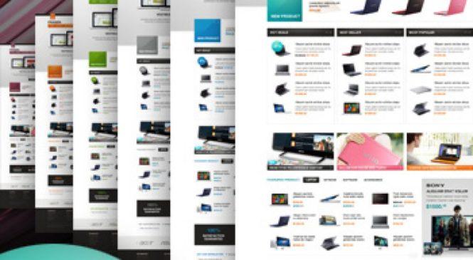 Templates Magento – modelos para lojas