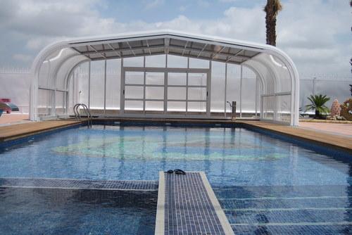 Pre os de coberturas para piscinas baixas e planas for Coberturas para piscinas