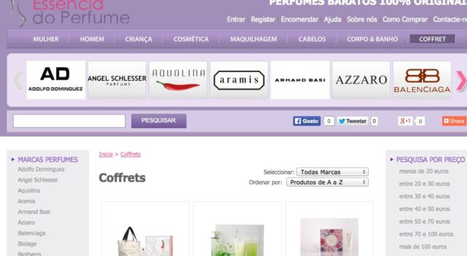 Loja de perfumes essenciadoperfume.com