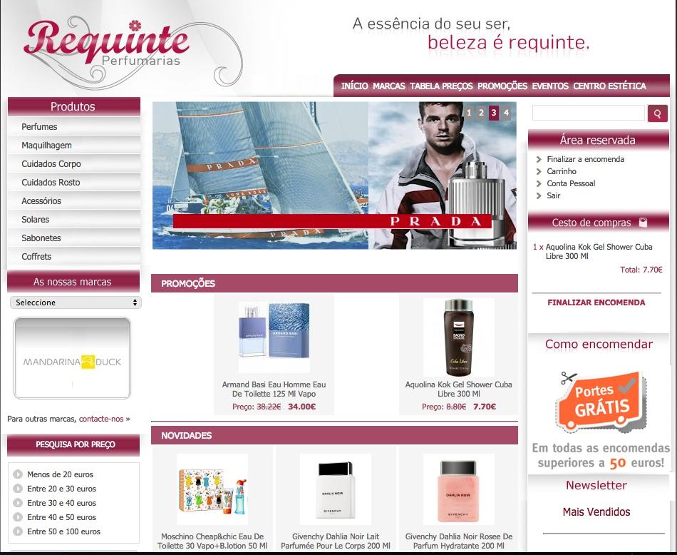 Loja Perfumes Requinte Perfumarias