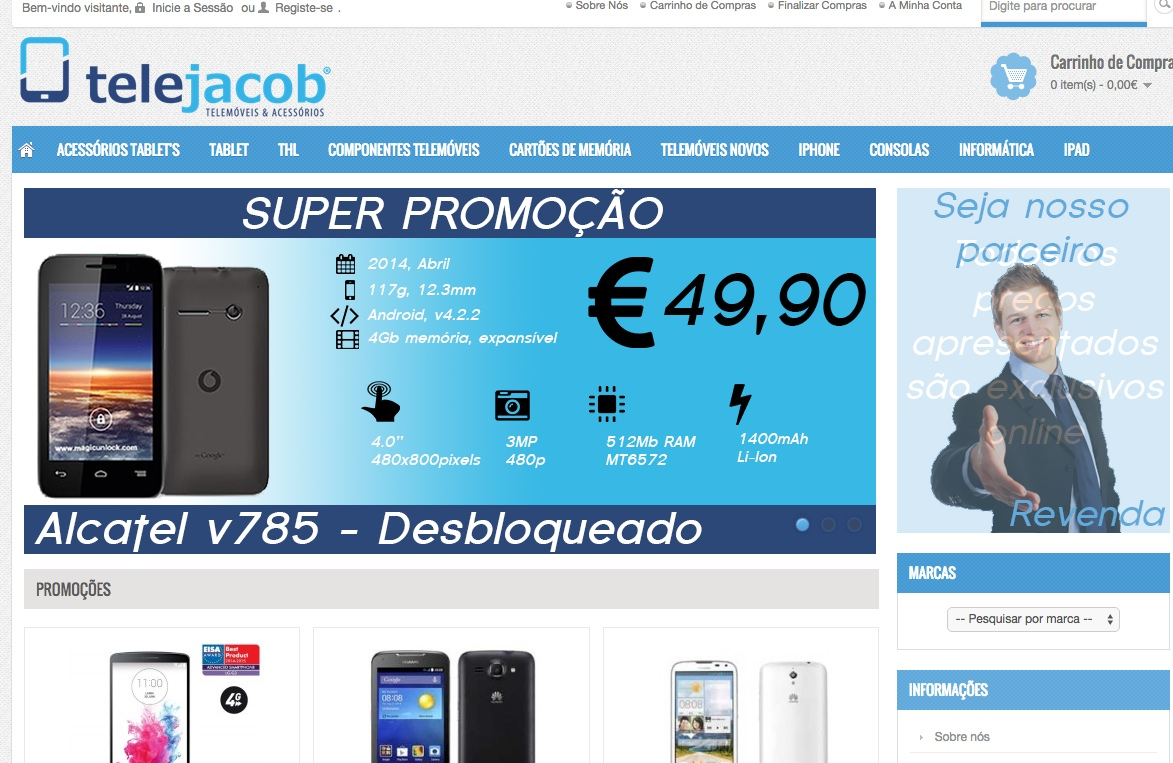 Telejacob – Telemóveis & Acessórios