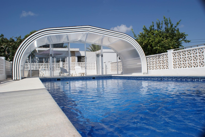 coberturas de piscinas