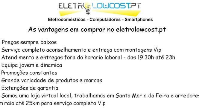 ELECTRO Lowcost | Loja Online de Electrodomésticos