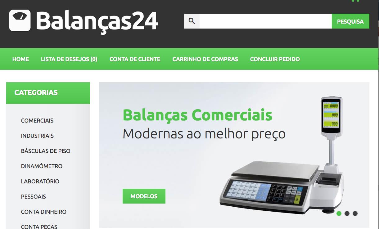 Balanças Comerciais | Loja Online