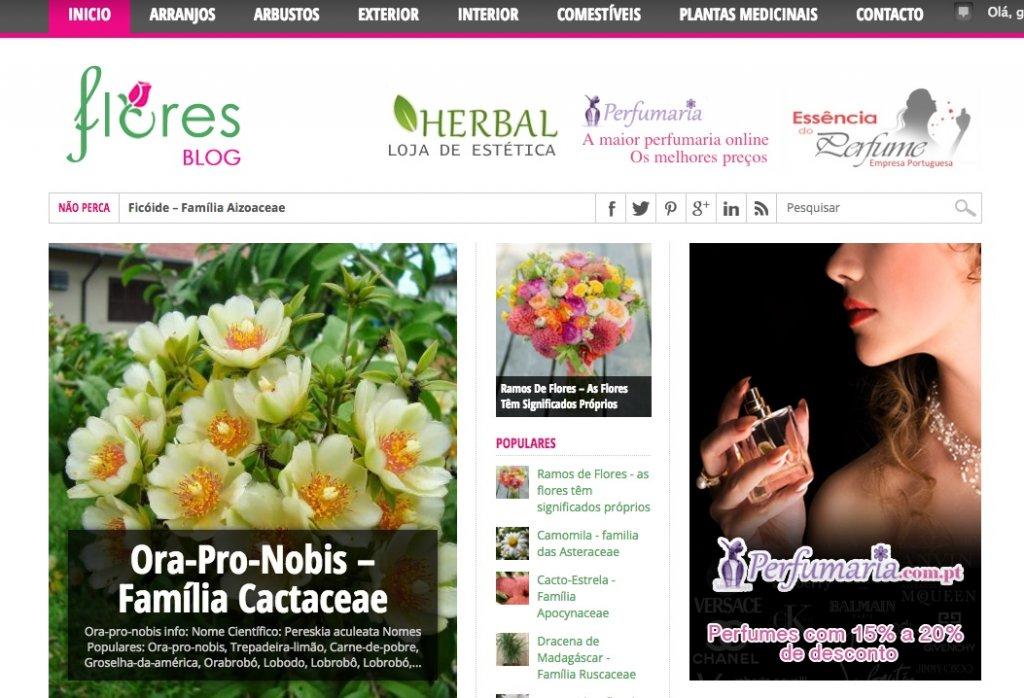 Blog das Flores