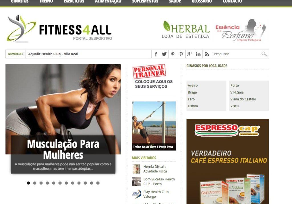 Blog sobre Fitness