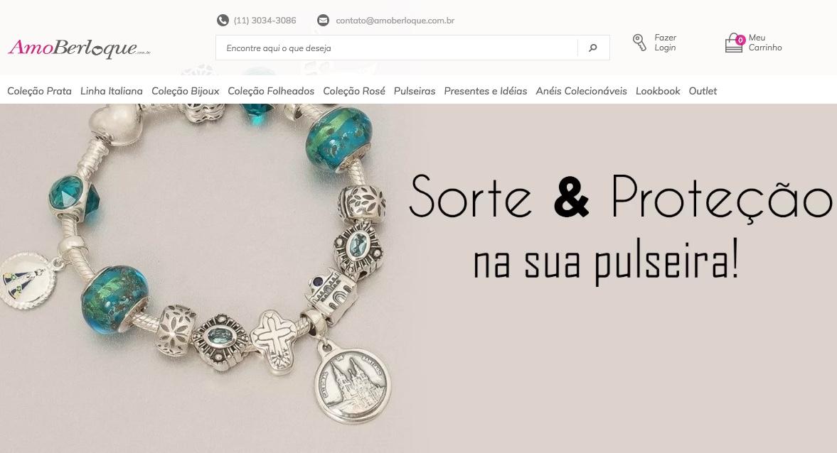 Loja Online Amo Berloque – Colecione Sonhos