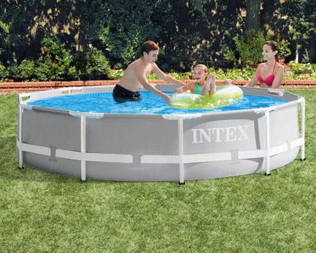 Por que escolher uma piscina Intex