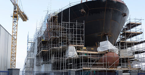 Aço indicado para a indústria marítima