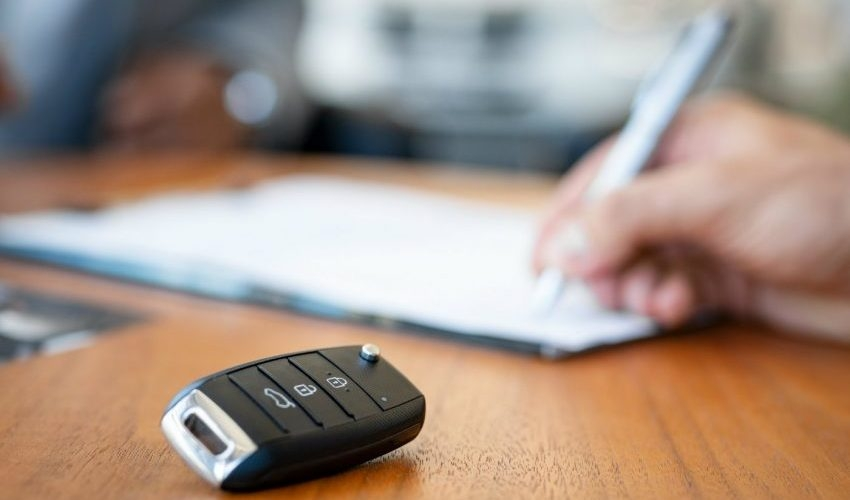 Declaração de venda automóvel